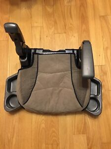 Booster Car Seat - Brown