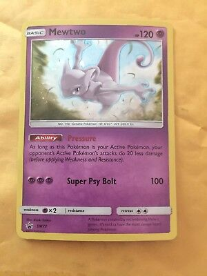 Mewtwo Holo   Sm77   Promo   Never Played   Pack Fresh   Nm Mt