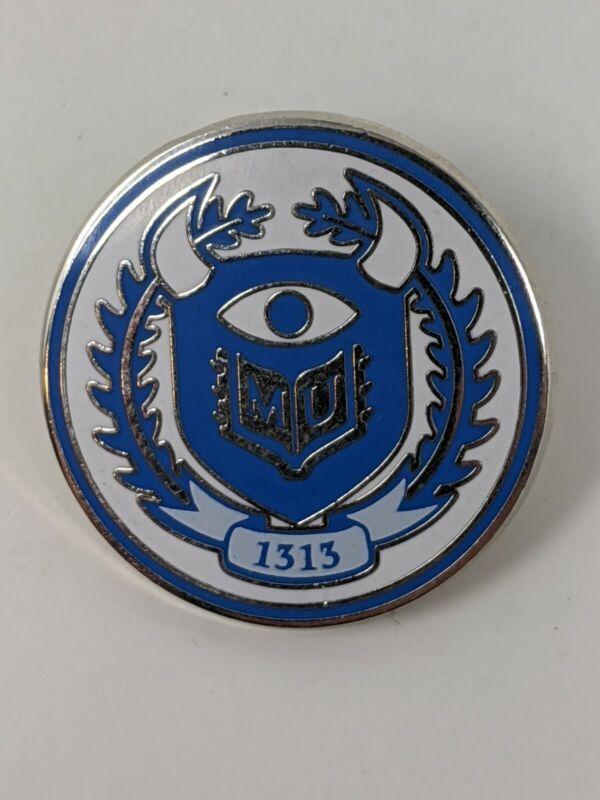 Disney Monsters University Logo Crest Pin