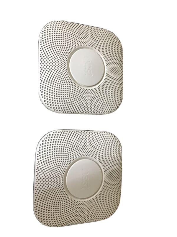 2 nest Battery smoke detectors