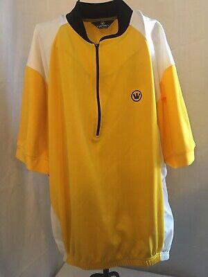Moxie Black White Multi Colorblock Cycling Jersey Tee Shirt Top S M L XL NWT