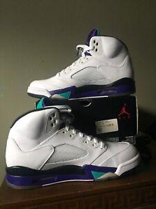 Jordan 5 Grape Size 9.5 BNIB