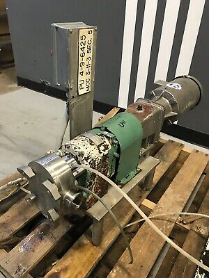 Tri-clover Pred10-1-12m-uc2-st-s Positive Displacement Rotary Pump 2hp