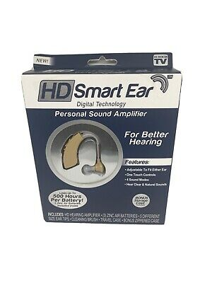 HD Smart Ear Digital Technology For Better Hearing Lasts Up To 500 Hours