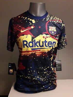 Camiseta entrenamiento fc barcelona nike messi liga champions barça meyba kappa
