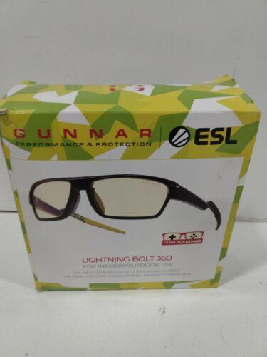 GUNNAR ESL LIGHTNING BOLT 360 INDOOR/OUTDOOR USE AMBER/SUN