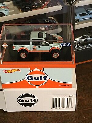 Hot Wheels 2019 RLC Exclusive GULF '17 FORD RAPTOR