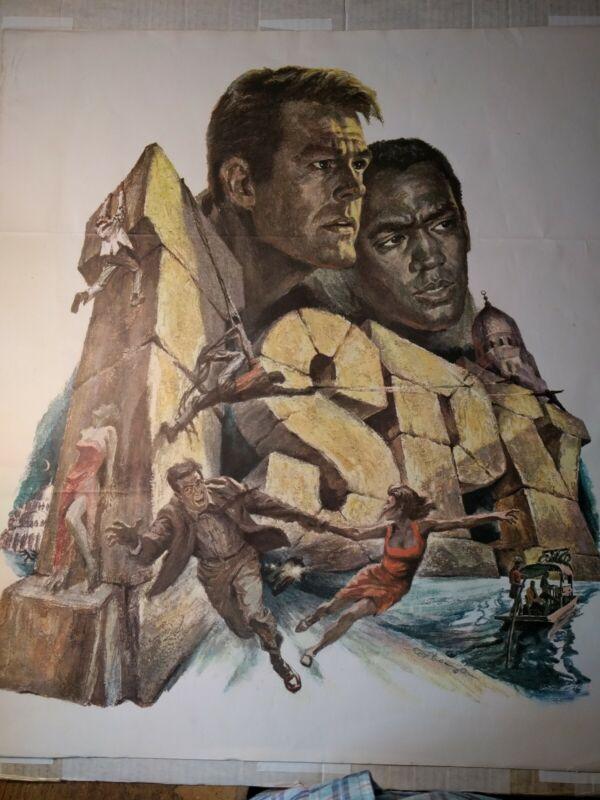 I SPY 1966 original TV promo poster