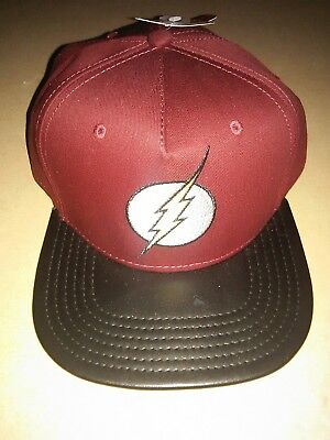 DC The Flash Hat Snapback Hats Cap Unisex Adjustable Baseball Fashion HipHop Cap - Flash Hat
