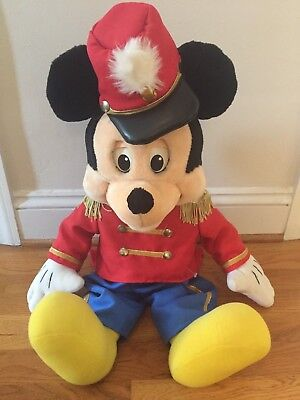 """27"""" VINTAGE 1984 WORLDS OF WONDER THE TALKING MICKEY MOUSE PLUSH DOLL And Closet"""