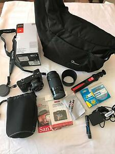 Sony a6000 Mirrorless Camera w/ 2 lenses and loads of extras Molendinar Gold Coast City Preview