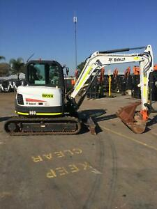 Bobcat E60 - EXCELLENT CONDITION - VERY LOW HOURS!! Kenwick Gosnells Area Preview