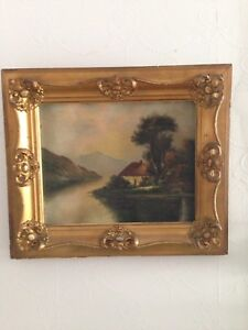 Circa 1900 painting from well known Phillips