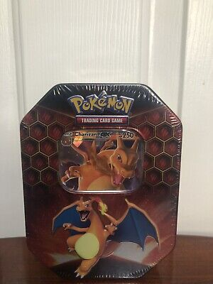 Pokemon Hidden Fates - CHARIZARD-GX! Factory Sealed Tin! FREE shipping!