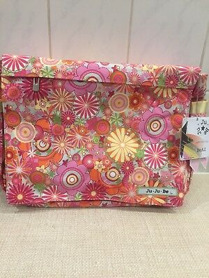 Ju Ju Be Changing Bag Zany Zinnias Be All Collection Brand New With Tags