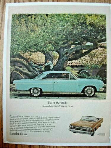 1965 American Motors Rambler Classic ad 10x13