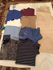 Assorted T-Shirts / Capris Size Large - All for $15