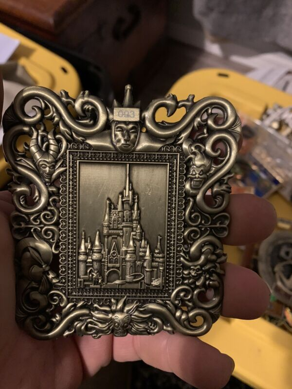 Disney Frame Challenge Coin, Security, CPO, NYPD