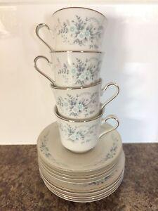 Sango Fine Chine Blue Mist Tea Cup Set Merrimac Gold Coast City Preview