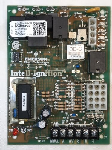White-rodgers 50A65-476-08 furnace control board D341396P05 CNT 05165