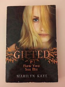 Gifted Now You See Me by Marilyn Kaye