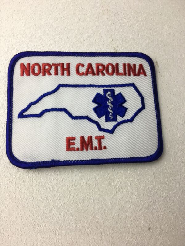 North Carolina E.M.T. Patch