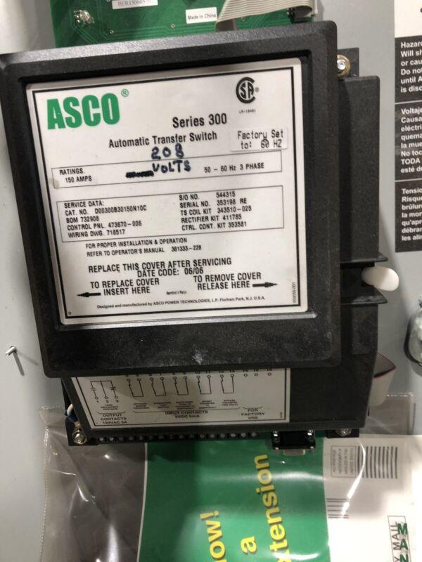 ASCO Series 300 Transfer Switch Controller 208VAC