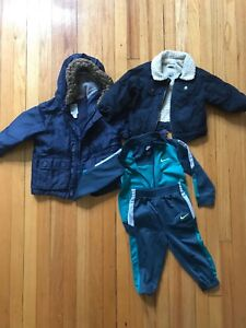 Coats and track suit for 12-24months