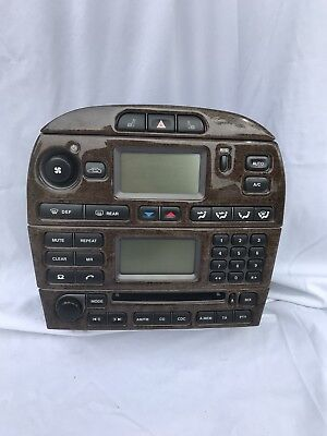 Used, Jaguar X Type Radio Wood Grain for sale  New Baltimore
