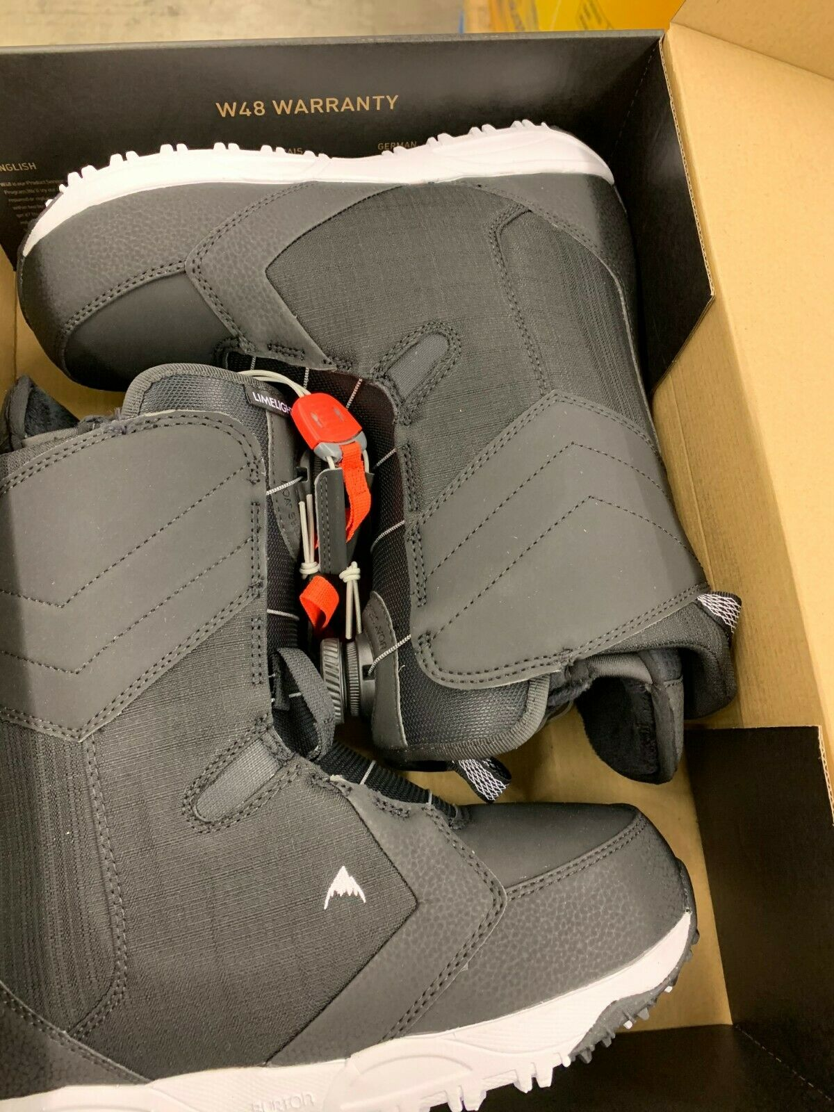 limelight boa snowboard boots size 7 5