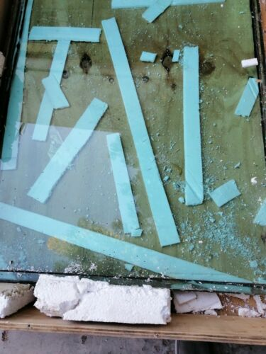 "LOT of 3 Bullet Proof Glass 36"" x 46"" x 1-1/2"" Level 3"