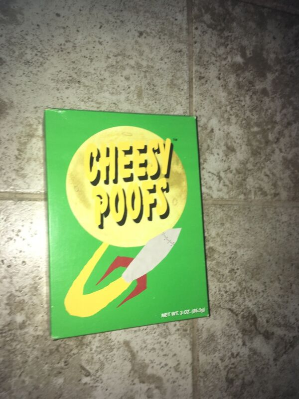 Unopened South Park Cheesy Poofs (RARE Collectible from 1998)