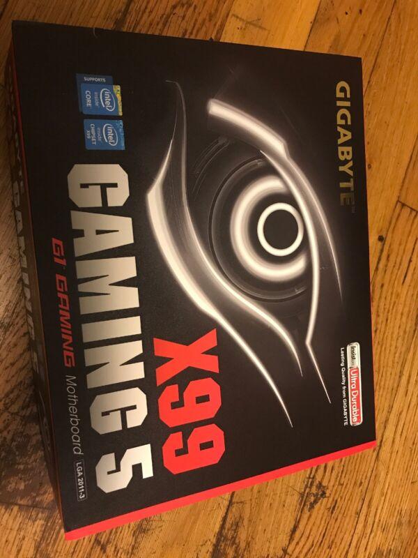 GIGABYTE ATX Motherboard 2400/2666/2800/3000MHz (Socket LGA 2011-v3) Multi GA-X99-GAMING 5
