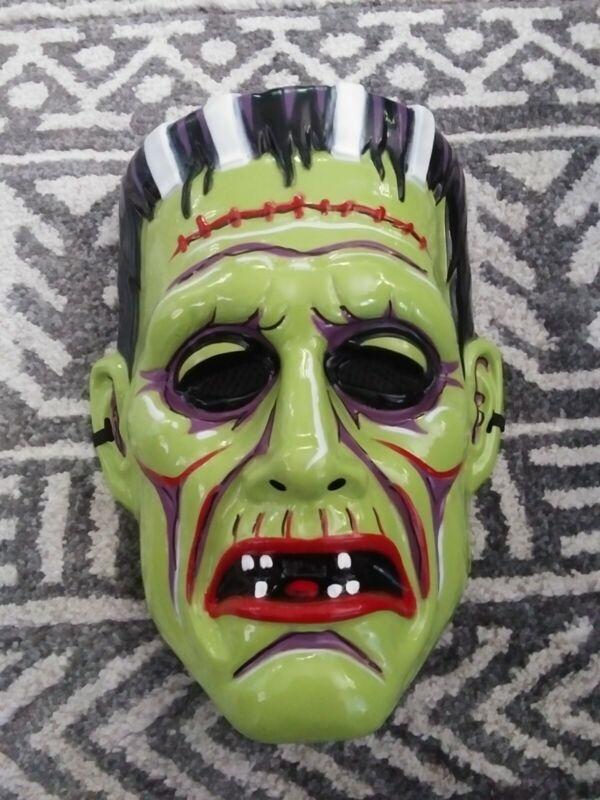 Spirit Halloween Vintage Masks Lot of 8 Frankenstein Mummy Dracula
