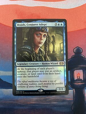 Magic the Gathering MTG Braids, Conjurer Adept FOIL Double Masters NM