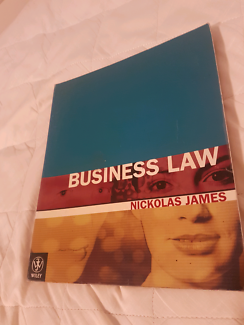 Business law by nickolas james 4th edition textbooks gumtree textbook business law nickolas james fandeluxe Choice Image
