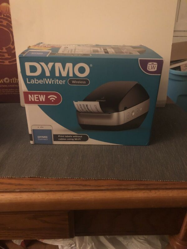 DYMO LabelWriter Wireless WiFi Thermal Label Printer, For Home & Office - Black
