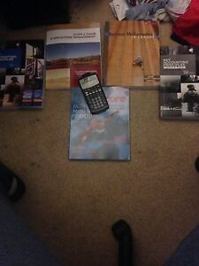 Accounting semester one textbooks and BA2+ calculator  Cambridge Kitchener Area image 1