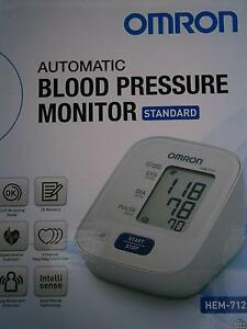Omron HEM 7121 Upper Arm Blood Pressure Monitor, NEARLY NEW Newtown Geelong City Preview