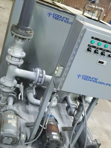 """Water Pump Station & Holding Tank """"Cooling Technology USA"""" Injection Molding"""
