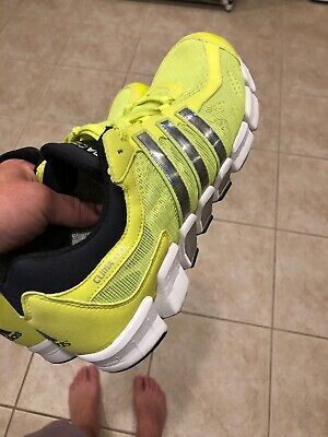 Adidas Climacool Tennis Shoes - Mint Adidas Climacool Tennis Shoes Neon Green Yellow Volt Size 11 Very Nice Rare