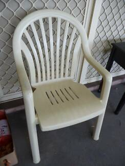 White Garden Chair (one available)