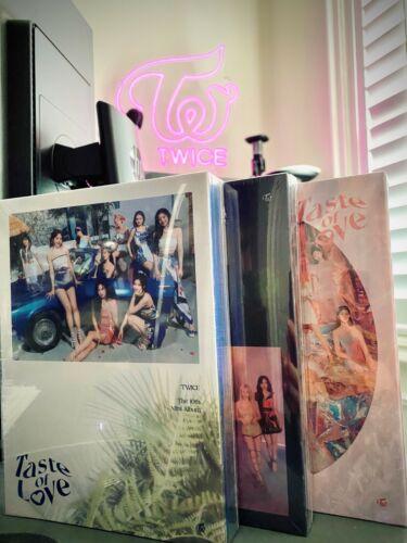 TWICE Taste of Love (Brand New - Sealed) 10th Mini Album CD+Photo Book+8 Card