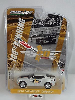2016 Indy 500 100th Running Chevy Camaro Pace Car 1:64 Diecast 50th Anniversary