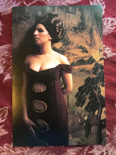 Barbra Streisand 1994 concert postcard souvenir NYC show