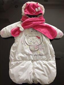 Pochette/habit d'hiver + accessoires pour fille Souris Mini