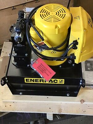 Ze4420sb-n Enerpac Electric Hydraulic Pump 110v New