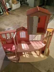 Barbie House and Remote Car