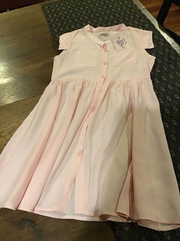 Nwt M L Kids Girls Cotton Dress...Size 7