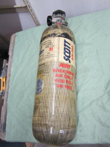 Qty. 1  Scott 45 Minute SCBA Carbon Air Bottle Tank